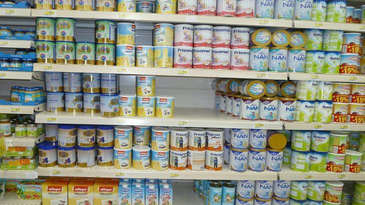 Потребление продуктов детского питания в России