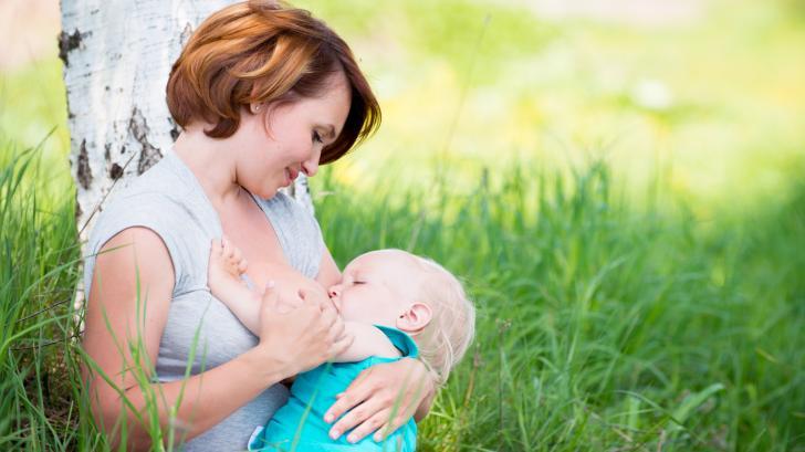 Грудное вскармливание — залог хорошего здоровья малыша