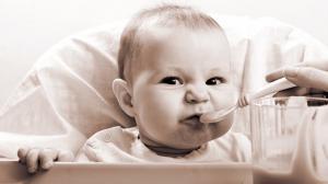 Примерное меню ребенка с 9 месяцев до 1 года