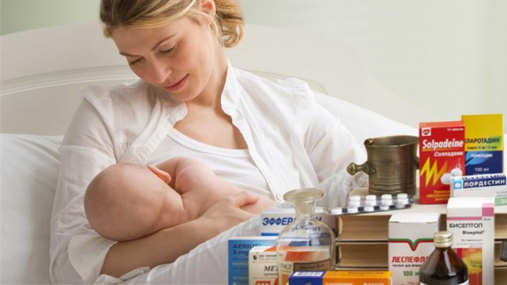 Лекарственные средства и кормление грудью