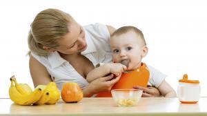 Сырые фрукты в детском питании
