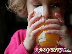 Сок полезен для ребенка