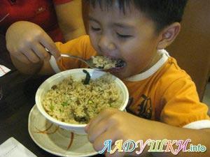 Аппетитная рисовая каша