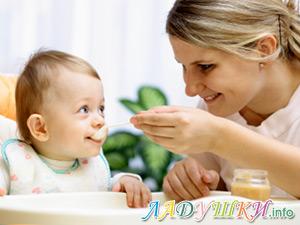 Прикорм грудных детей