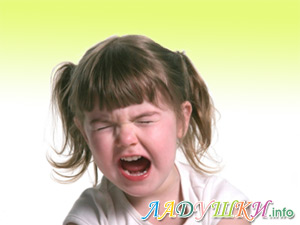 Детские капризы часто перерастают в истерики
