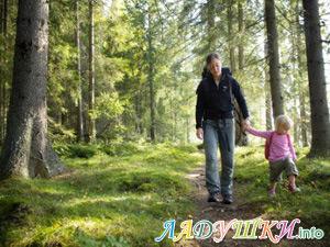 Туристический поход с ребенком